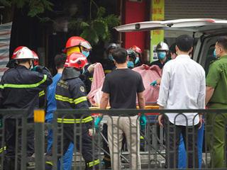 Hà Nội: Danh tính 4 người trong cùng gia đình tử vong sau cháy lớn, người mẹ đang mang thai