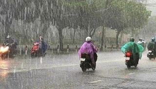 Thời tiết đầu tuần: Miền Bắc mưa lớn, miền Nam có nơi nắng nóng