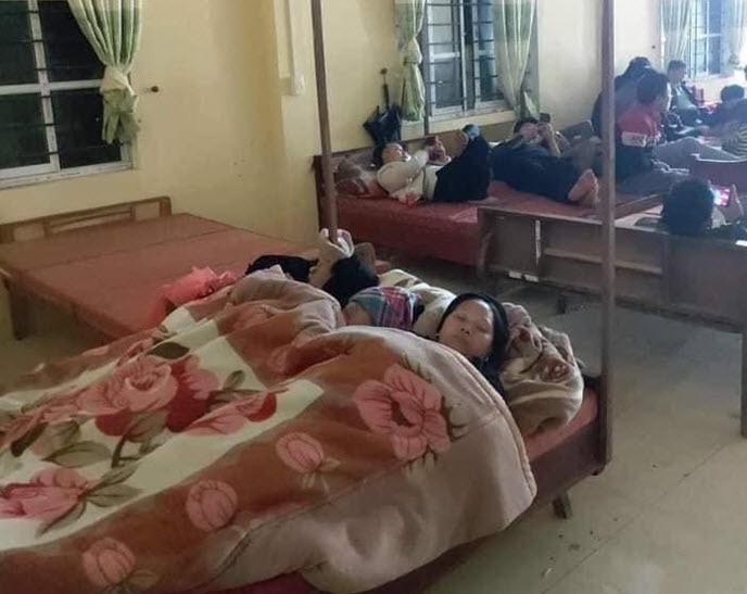 Đi làm căn cước công dân, người dân được bố trí giường chiếu, chăm ấm đệm êm