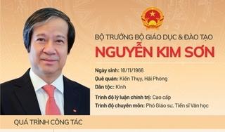 Phó Giáo sư, Tiến sĩ Nguyễn Kim Sơn làm Bộ trưởng Bộ Giáo dục và Đào tạo