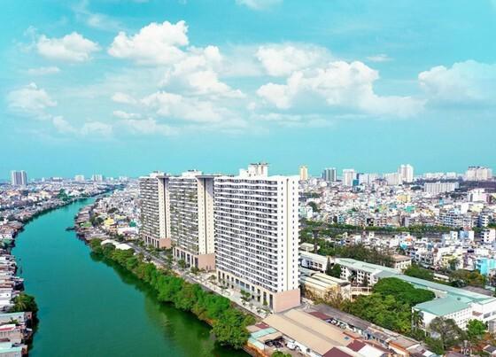 Công trình xanh Diamond Lotus Riverside do Phuc Khang Corporation phát triển tại TP.HCM