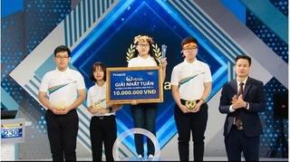 Nữ sinh thứ hai giành vòng nguyệt quế Olympia 2021 đến từ Nam Định