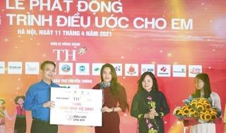 Xây mới 1.000 nhà vệ sinh trường học: Sức khỏe học đường là tương lai tầm vóc Việt