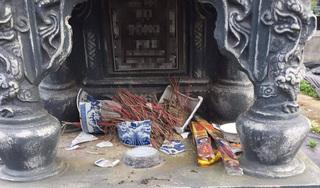 Hải Phòng: Một loạt ngôi mộ bị kẻ xấu đập phá