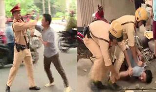 Bắc Giang: Tạm giữ người đàn ông say rượu hành hung cảnh sát