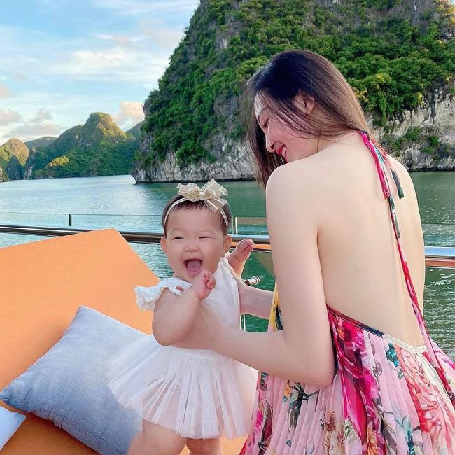 Cô dâu Nam Định 200 cây vàng, con gái tỷ phú Minh Nhựa đẹp phồn thực sau khi sinh nở