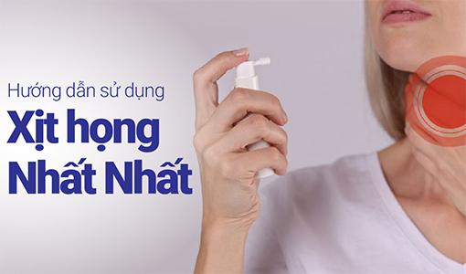 Dung dịch Xịt họng