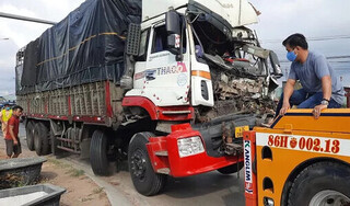 Truy tìm tài xế xe container gây tai nạn chết người rồi bỏ chạy