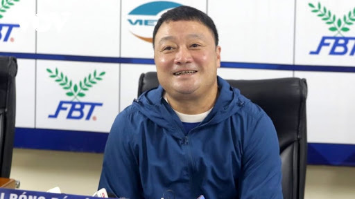 HLV Trương Việt Hoàng hài lòng với chiến thắng của Viettel