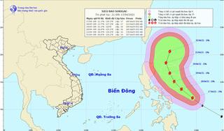 Siêu bão Surigae rất nguy hiểm, hướng bão thay đổi, nguy cơ ảnh hưởng trực tiếp tới biển Đông