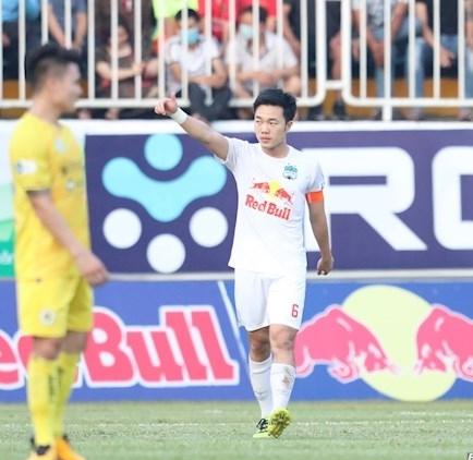HAGL thắng tối thiểu Hà Nội FC trên sân nhà ở vòng 10 V.League