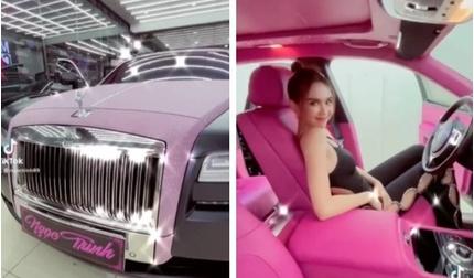 Siêu xe Roll Royce hơn 30 tỷ màu hồng Ngọc Trinh khoe có gì đặc biệt?