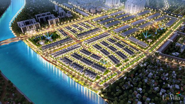 La Villa Green City nằm ở vị trí lợi thế đắc thủy trung tâm TP.Tân An