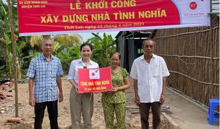 Khởi công xây dựng hai nhà tình nghĩa cho người dân khó khăn