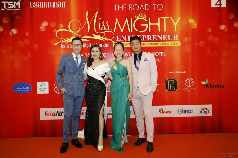 Vũ Anh Quân - chàng MC ruột của Hoa hậu Doanh nhân Toàn năng châu Á