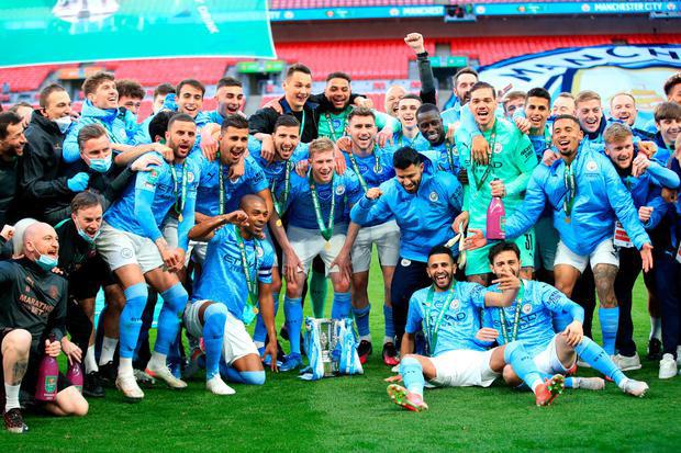 Man City vô địch Carabao Cup