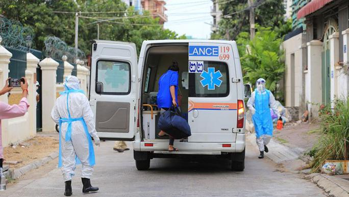 Campuchia ghi nhận gần 10.000 ca mắc Covid-19 tại 22 tỉnh thành