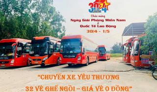 """""""Chuyến xe 0 đồng"""" mang tình thương về Hà Tĩnh"""
