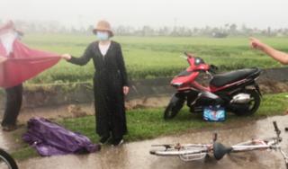 Hà Tĩnh: Trên đường đi học về, một học sinh bị sét đánh tử vong