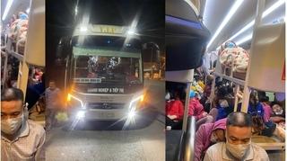 Xe khách 38 chỗ đi từ Lạng Sơn đến Nghệ An