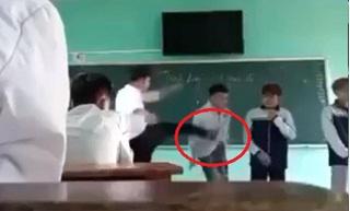 Thầy giáo ở Bắc Giang chửi bới, đá học sinh ngã ngửa ngay trên bục giảng