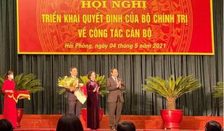 Ông Trần Lưu Quang được phân công làm Bí thư Thành ủy Hải Phòng