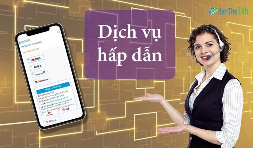 Banthe24.vn tích hợp đa chức năng, đề cao tính ưu việt cho người dùng