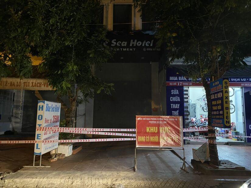 Phong toả khách sạn có bệnh nhân Covid-19 người Hải Dương lưu trú