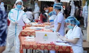 Nghệ An giãn cách xã hội thị xã Hoàng Mai, phong tỏa 5 thôn sau ca mắc Covid-19 lây nhiễm cộng đồng đầu tiên