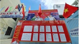 Xét nghiệm Covid-19 cho 10.000 cán bộ, lực lượng phục vụ bầu cử ở Đà Nẵng