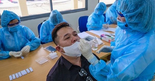 Ghi nhận 7 ca dương tính SARS-CoV-2 trong một buổi sáng