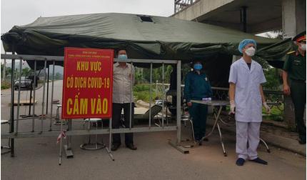 Dịch Covid-19 diễn biến phức tạp, Bắc Ninh giãn cách xã hội toàn bộ huyện Thuận Thành từ 14h ngày 9/5