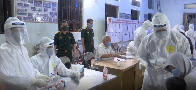 Bắc Ninh giãn cách xã hội toàn bộ huyện Thuận Thành từ 14h ngày 9/5