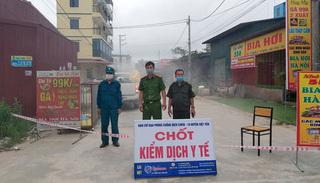 Bắc Giang: 12 công nhân làm trong khu công nghiệp dương tính với SARS-CoV-2