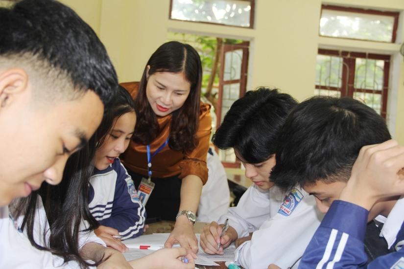 Hà Tĩnh: Giáo viên, học sinh 'nước rút' ôn luyện