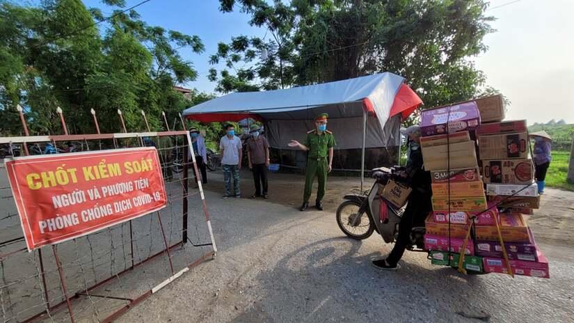 Bắc Ninh tìm người từng đến 8 địa điểm liên quan các ca mắc COVID-19