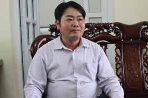 Thanh Hóa: Bắt nguyên Chủ tịch xã Hòa Lộc, huyện Hậu Lộc