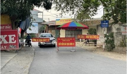 Vĩnh Phúc cách ly xã hội phường Hùng Vương từ 0h ngày 13/5
