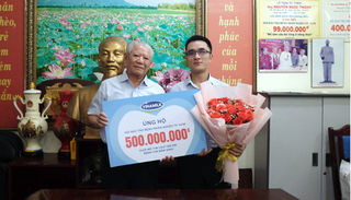 Hơn 1.200 bệnh nhân nghèo đã được Vinamilk hỗ trợ phẫu thuật tim và mắt