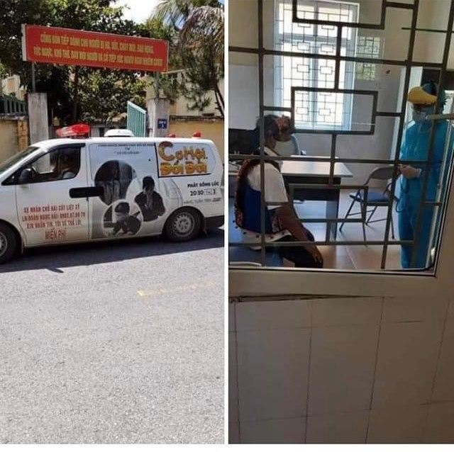 Ông Đoàn Ngọc Hải sốt 38,5 độ C khi đang chở sữa đi từ thiện ở Điện Biên