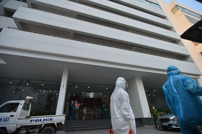 Vụ ca nhiễm Covid-19, phòng khám đa khoa quốc tế Thu Cúc bị xử phạt
