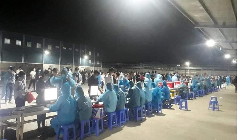 Quay cuồng trong tâm dịch Covid-19 ở Bắc Giang