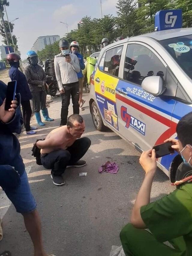 Bất ngờ về lai lịch của tên cướp đâm trọng thương tài xế taxi ở KĐT Thanh Hà