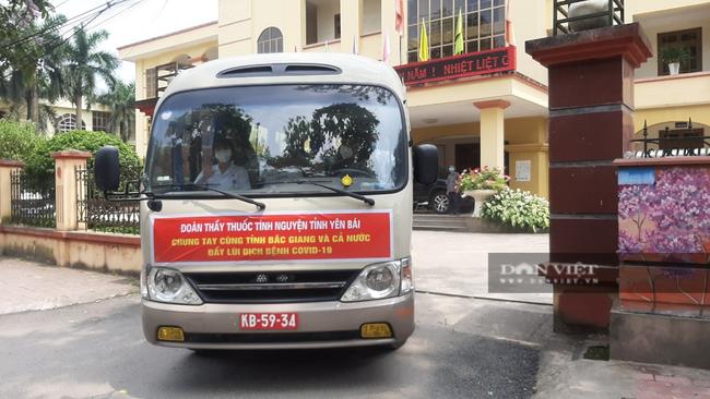 Yên Bái chi viện 15 cán bộ y tế đến Bắc Giang chống dịch Covid-19