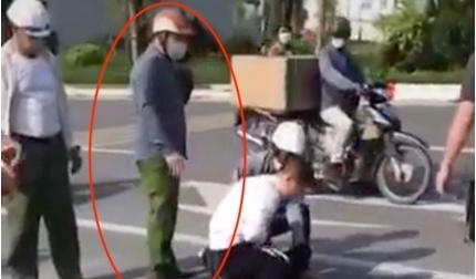 Kỷ luật đại úy công an đứng gọi điện thoại tại hiện trường vụ bắt cướp ở Hà Nội
