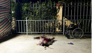 Hà Tĩnh: Người tàn tật bị người tâm thần chém tử vong