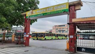 Bắc Giang dừng toàn bộ hoạt động vận tải hành khách từ ngày 21/5