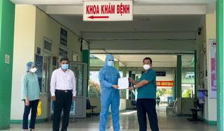 Bệnh nhân COVID-19 đầu tiên trong đợt dịch 2 ở Đà Nẵng xuất viện