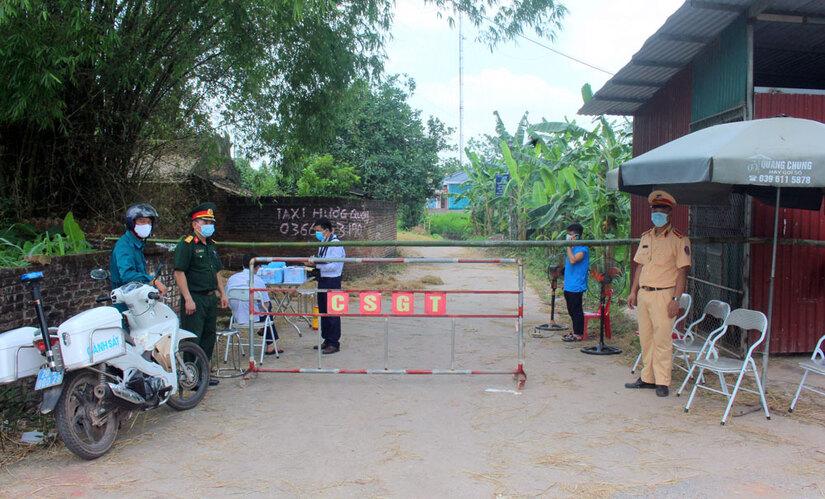 Thêm 1 ca dương tính Covid-19 là công nhân KCN Quang Châu, Thái Nguyên