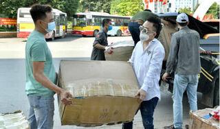 Quê hương Bắc Giang, Bắc Ninh chống dịch COVID-19, Tùng Dương kêu gọi 2 đợt quyên góp được 460 triệu đồng